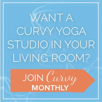 Curvy Monthly - Curvy Yoga